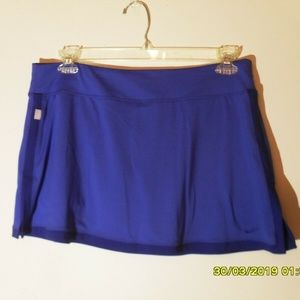 WOMEN'S NIKE DRI FIT SIZE XL TENNIS SKIRT  BLUE
